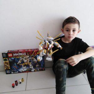 Wassim et sa belle construction lego